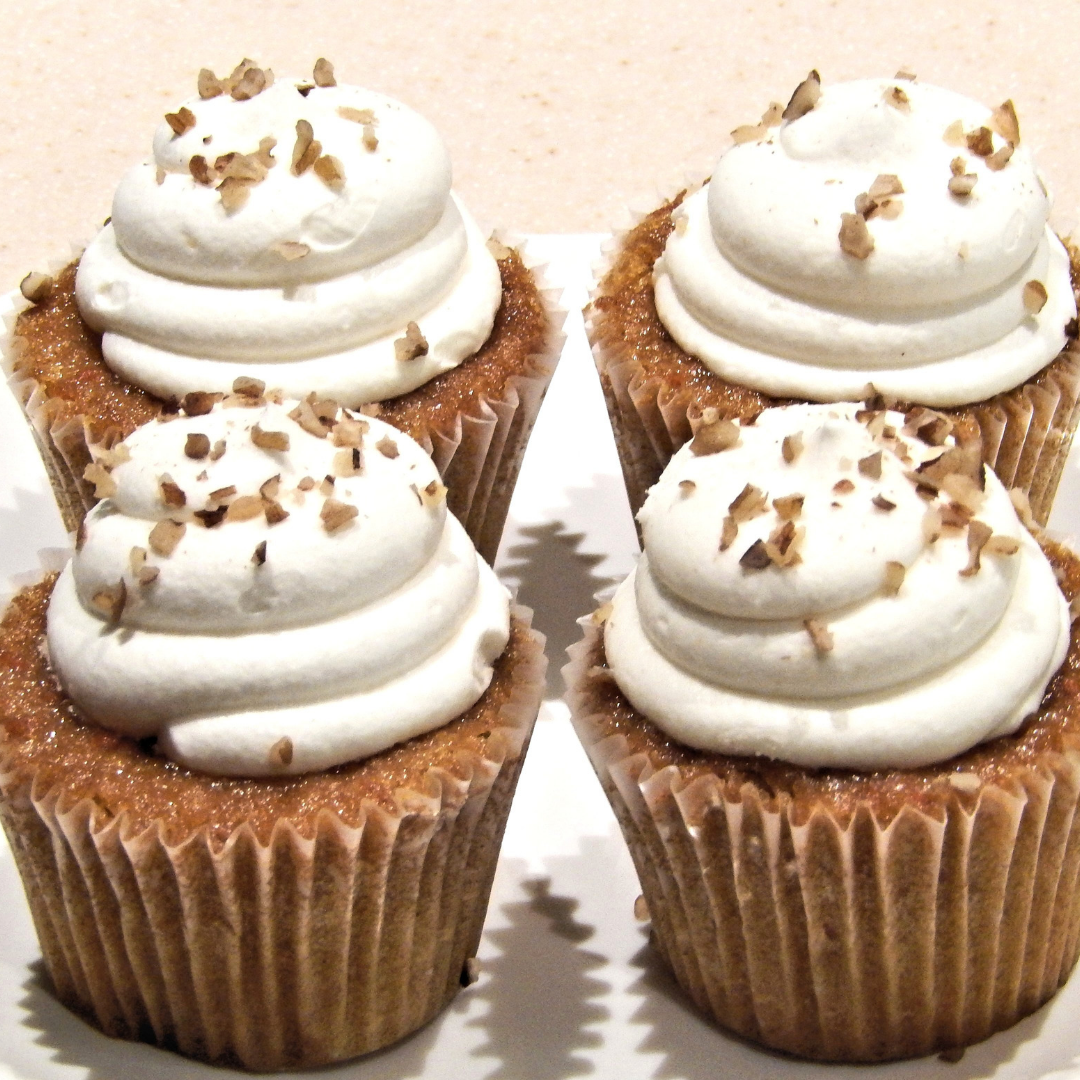 RECIPE ALERT: Coconut Cinnamon Cupcakes