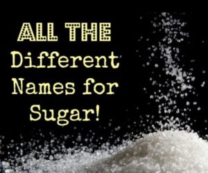 The Many Names of Sugar