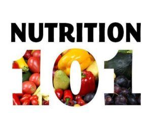 Daily Nutritional Recommendations from Nutrition 101